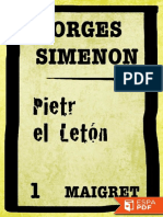 Pietr El Leton - Georges Simenon