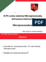 El PC Como Sistema Microprocesado- Estructura Interna PC