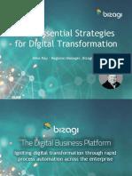four essential strategies for digital transformation