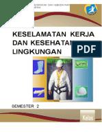 Keselamatan Kerja Dan Kesehatan Lingkungan 2-Kelas X-Semester 2