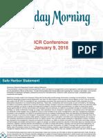 TUES Tuseday morning TM IR Presentation Jan 2018