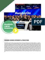 rmbl RumbleOn Investor Deck ICR Conf[1] 2018