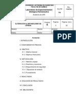 Alteracion en El Metabolismo de Lipidos 001