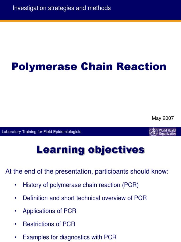 Pcr | Polymerase Chain Reaction | Primer (Molecular Biology)