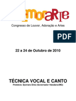 Tcnica Vocal e Canto