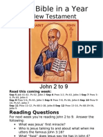 Bible in a Year 43 NT John 2 to 9