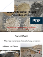 2.0 Unbound Material and Physical Properties of Soils