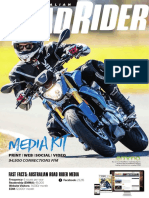 Australian Road Rider Magazine Media Kit 2018