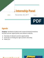 bmes internship panel slides