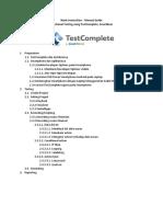 Manual Guide - SmartBear - TestComplete