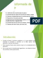 5 Transformada de Laplace_1RA PARTE_ESTUDIANTE