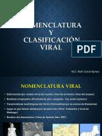 3 Nomenclatura y Clasificacion Viral 2016