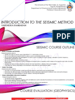 PENG 6000 - Introduction to the Seismic Method VR [09.10.2017]