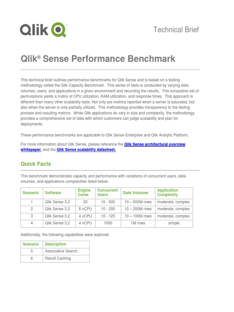 WP Technical Brief Qlik Sense Performance Benchmark En | Cache