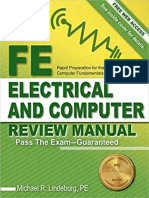 Michael R. Lindeburg-FE Electrical and Computer Review Manual-Professional Publications, Inc. (2015)