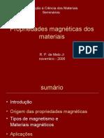 Propriedades Magnéticas Dos Materiais