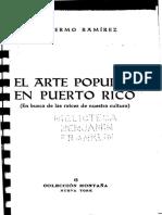 3622 - Guillermo Ramírez. El Arte Popular en Puerto Rico