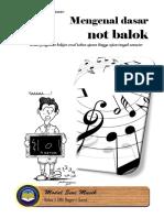E-Book Not Balok Dasar