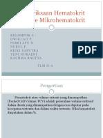 mikrohematokrit