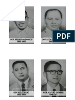 Isabela Governors