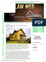 Law Web_ Whether Succession Certificate Can Be Granted in Respect of Immovable Property