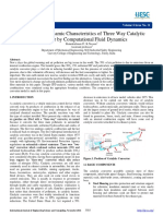 711525efe0497e1f5a08f4cb595518d5.Emission and Dynamic Characteristics of Three Way Catalytic Analisis Catalitic Converter (Bagus) Converter by Computational Fluid Dynamics