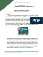 Job Sheet penulisan dan pembacaan ADC pada mikrokontroler