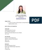 Caryl's Resume 3