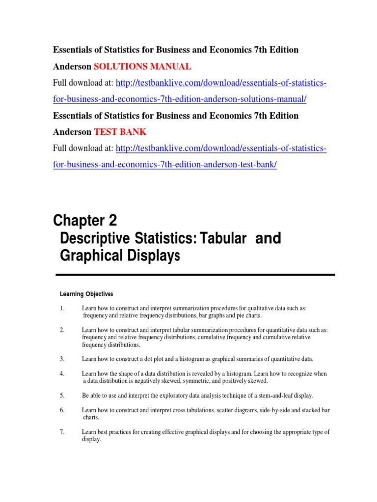 Essentials of statistics for business and economics 7th edition essentials of statistics for business and economics 7th edition anderson solutions manual fuel economy in automobiles histogram fandeluxe Image collections