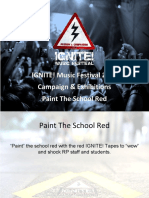 ignite  paint the school red 2016
