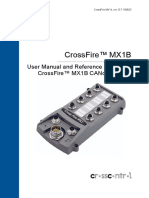 CrossFire MX1B CANopen Slave - Manual and Reference Handbook