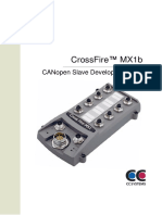 CrossFire MX1b - CANopen Slave Developers Guide