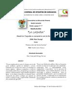 """Reporte de Libro """"La Cabaña"""""""