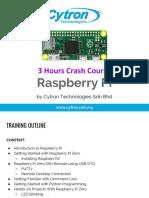 3 Hours Raspberry Pi Crash Course