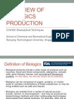 CH4306 Lec 00 Biologics Production