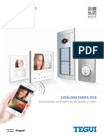 201801 Legrand Tegui Catálogo Videoporteros 2018