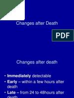 Changes After Death Notes for Uploading