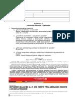 Derecho Evidencia RELaciones JURIDICAS
