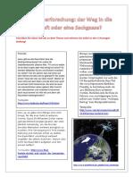 Aufsatz Zum Thema Weltraumerforschung Arbeitsblatter 53073