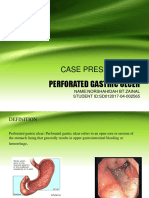 Perforated Gastric Ulcer