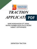 Traction Application Sha