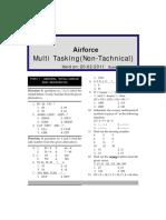 Air Force MultiTasking Staff General Intelligence(0)