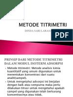 METODE TITRIMETRI