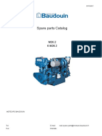 Main Engine 6m26.2 Spare Parts Catalogue