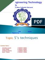 5s Techniques