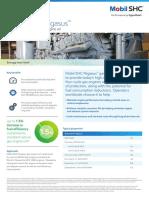 Mobil Shc Pegasus Synthetic Gas Engine Oil Performance Profile