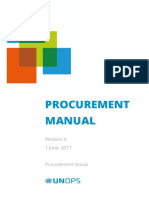 UNOPS Procurement Manual En