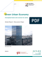 ICLEI-GIZ Green Urban Economy Study 2013