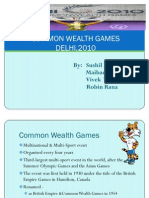Common Wealth Game
