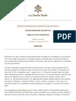 Papa Francesco 20180114 Omelia Giornata Migrante